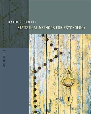 Statistical Methods for Psychology - 7th Edition