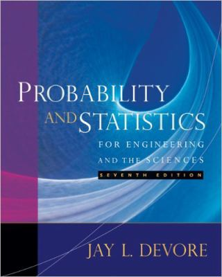 Student Solutions Manual for DeVore's Probability and Statistics for Engineering and the Sciences 9780495382195