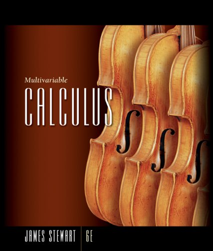 Student Solutions Manual for Stewart's Multivariable Calculus, 6th - 6th Edition