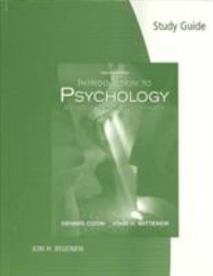Study Guide for Coon/Mitterer's Introduction to Psychology: Gateways to Mind and Behavior, 12th - 12th Edition