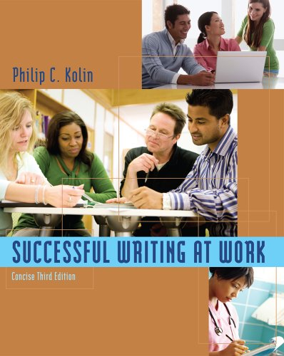 Successful Writing at Work: Concise Edition 9780495901945