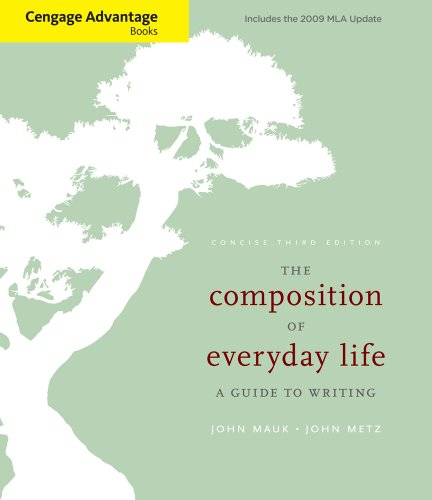 The Composition of Everyday Life: A Guide to Writing 9780495802020