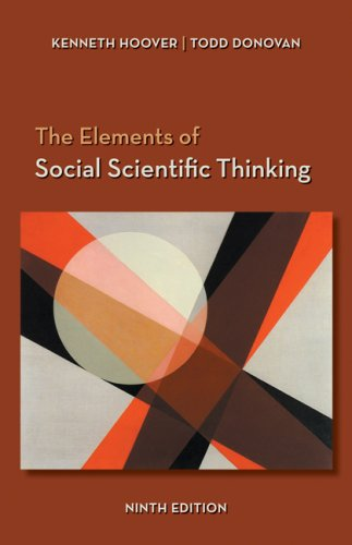 The Elements of Social Scientific Thinking 9780495015857