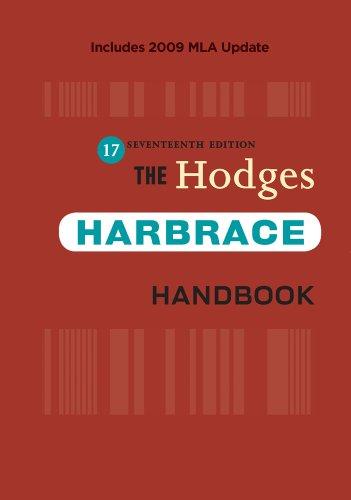 The Hodges Harbrace Handbook 9780495797562