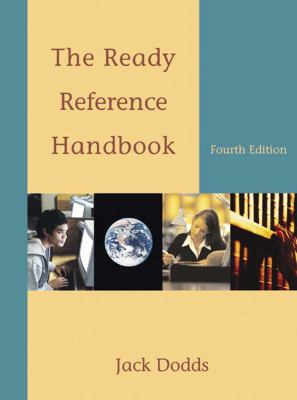 The Ready Reference Handbook 9780495899846