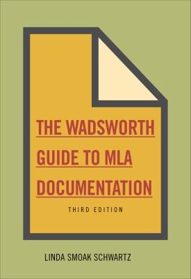 The Wadsworth Essential Reference Card to the MLA Handbook for Writers of Research Papers 9780495799832