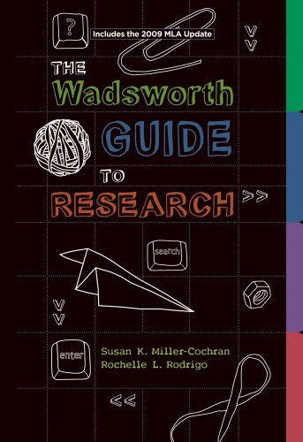 The Wadsworth Guide to Research 9780495799665