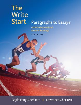 The Write Start: Paragraphs to Essays with Professional and Student Readings 9780495802587