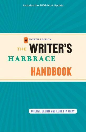 The Writer's Harbrace Handbook: Includes the 2009 MLA Update 9780495797531