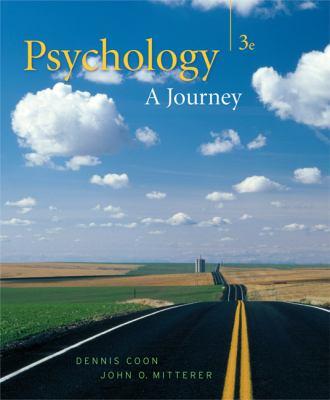 Thomson Advantage: Psychology: A Journey