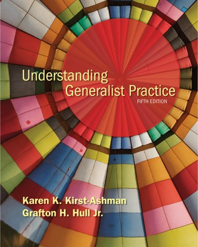 Understanding Generalist Practice 9780495507130