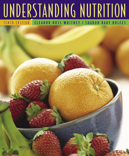 Understanding Nutrition [With CDROM and Infotrac] 9780495106166