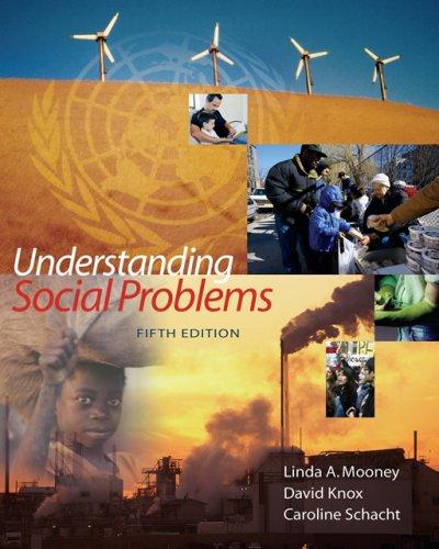Understanding Social Problems 9780495091585