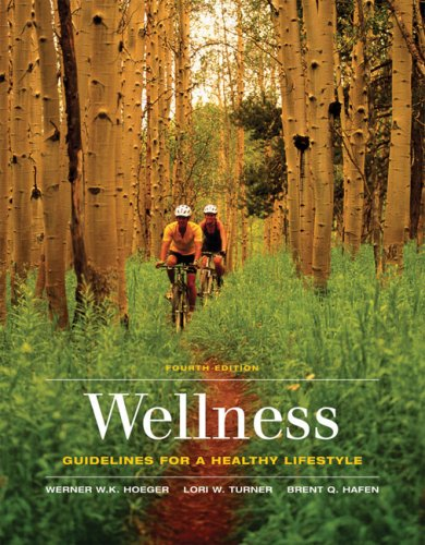 Wellness: Guidelines for a Healthy Lifestyle 9780495111122