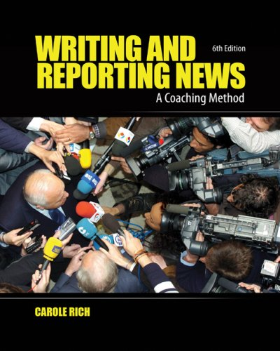 Writing and Reporting News: A Coaching Method 9780495569879