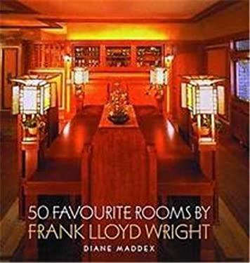 50 Favourite Rooms by Frank Lloyd Wright 9780500341681
