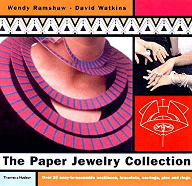 The Paper Jewelry Collection: Pop Out Artwear [With Hair Pins, Earrings, Jump Rings, Long Pins] 9780500510193