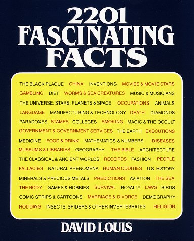 2201 Fascinating Facts: 2 Vols. in One 9780517395745