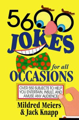5,600 Jokes for All Occasions 9780517320914