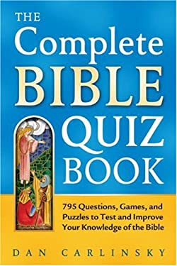 The Complete Bible Quiz Book 9780517232781