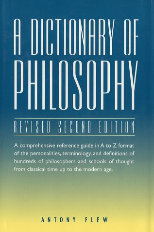 A Dictionary of Philosophy 9780517204191