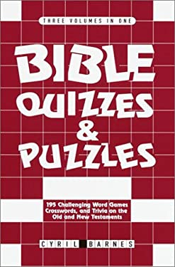 Bible Quizzes and Puzzles 9780517162248