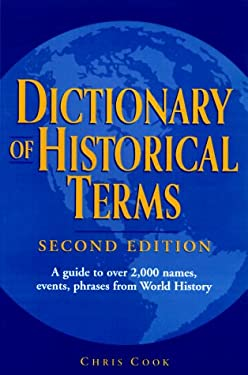 Dictionary of Historical Terms: Second Edition 9780517188712