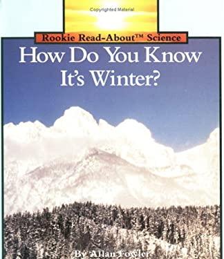 H.D.Y.K. It's Winter? Pbk 9780516449159