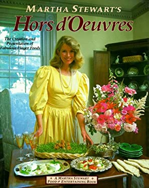 Martha Stewart's Hors D'Oeuvres 9780517554555