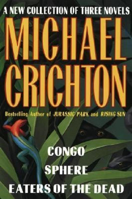 Michael Crichton: A New Collection of Three Complete Novels 9780517101353