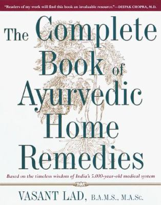 The Complete Book of Ayurvedic Home Remedies 9780517704059