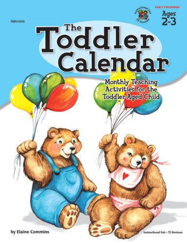 The Toddler Calendar 9780513021037