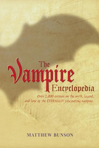 The Vampire Encyclopedia 9780517162064