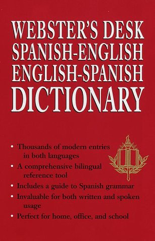 Webster's Spanish-English/English-Spanish Dictionary 9780517161364