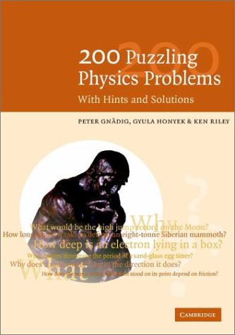 physics problems and solutions pdf