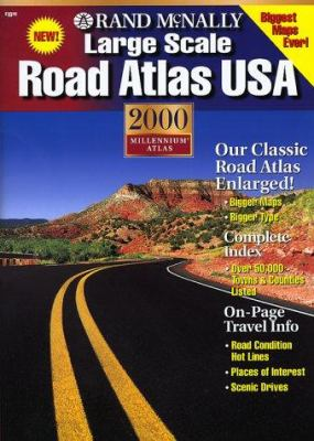 2000 Large Scale Road Atlas 9780528842368