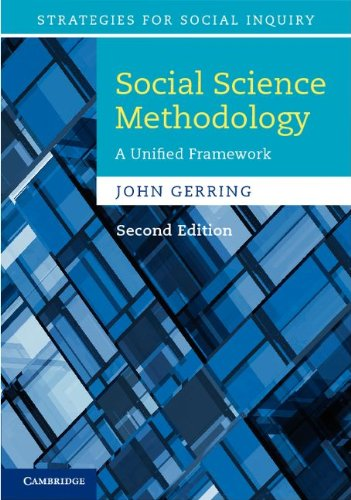 Social Science Methodology: A Unified Framework 9780521115049