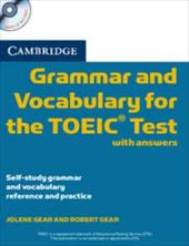 Cambridge Grammar and Vocabulary for the Toeic Test with Answers