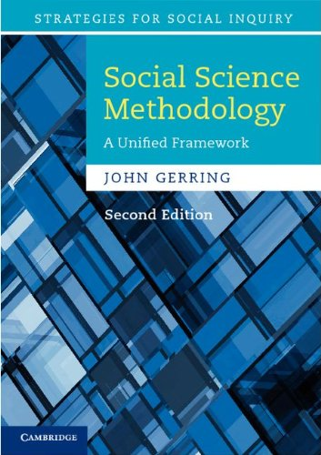 Social Science Methodology: A Unified Framework 9780521132770
