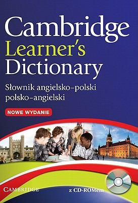 Cambridge Learner's Dictionary: Slownik Angielsko-Polski/Polsko-Angielski [With CDROM] 9780521170932