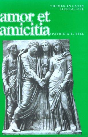Amor Et Amicitia 9780521377362