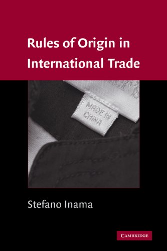 Rules of Origin in International Trade 9780521384407