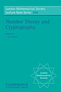 Number Theory and Cryptography 9780521398770