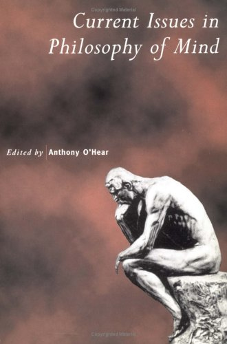 Contemporary Issues in the Philosophy of Mind 9780521639279