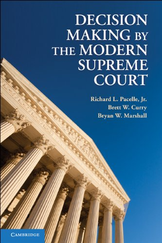 Decision Making by the Modern Supreme Court 9780521717717
