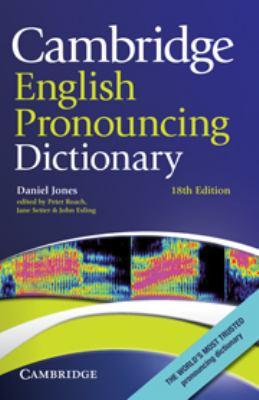 Cambridge English Pronouncing Dictionary 9780521765756