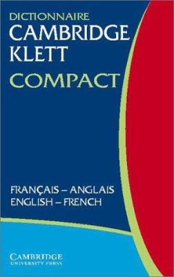 Dictionnaire Cambridge Klett Compact Francais-Anglais/English-French 9780521803007