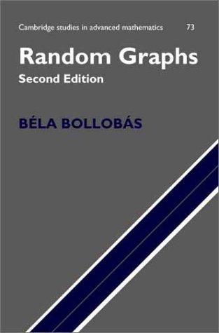Random Graphs 9780521809207