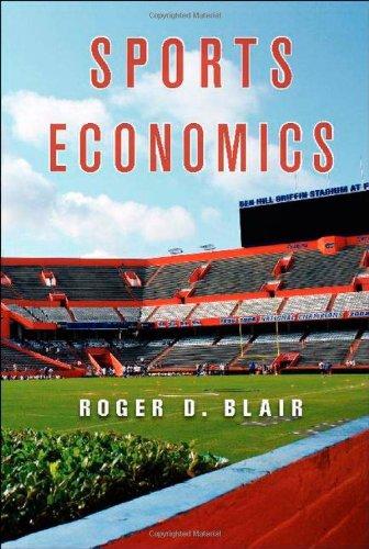 Sports Economics 9780521876612