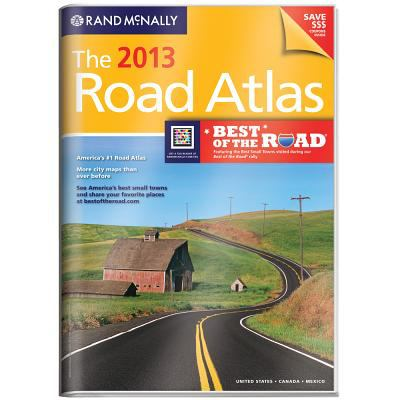 USA, Gift Road Atlas, 2013 (Rand Mcnally Road Atlas United States/ Canada/Mexico (Vinyl Covered Edition)) (Rand McNally Road Atlas (Vinyl Covered))
